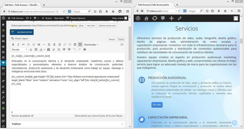 Diseño web y páginas efectivas