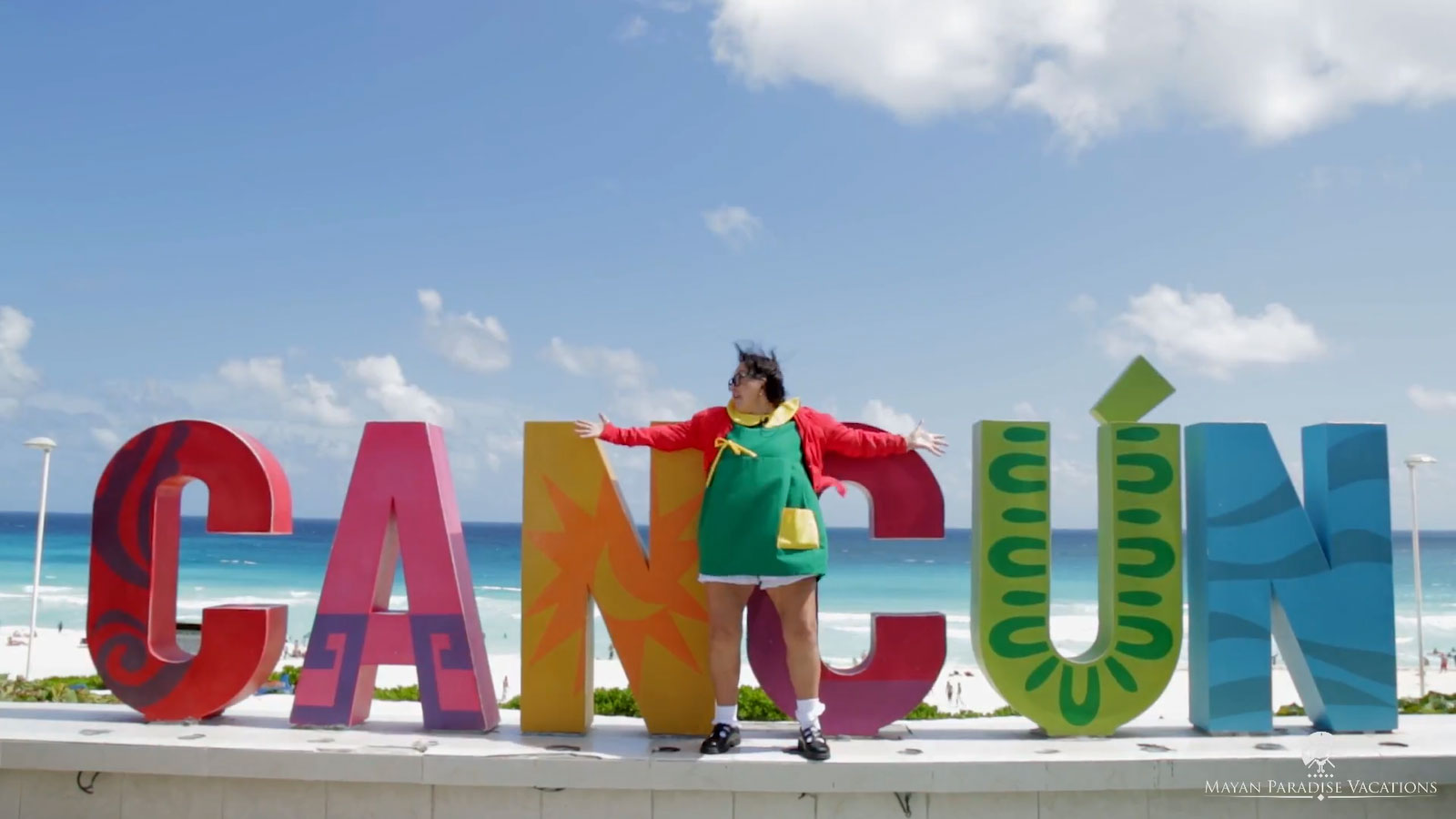 Mayan paradise vacations y la chilindrina